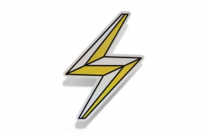 Thousand Reflective Sticker - Lightning Bolt