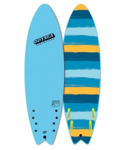 "Catch Surf SKIPPER 6'6"" - QUAD (Turquoise 19)"