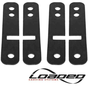 Loaded Drop-Thru Shock Pads (set of 4)