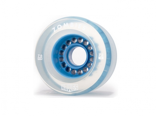 Hawgs Zombie 76mm 78a Clear Blue