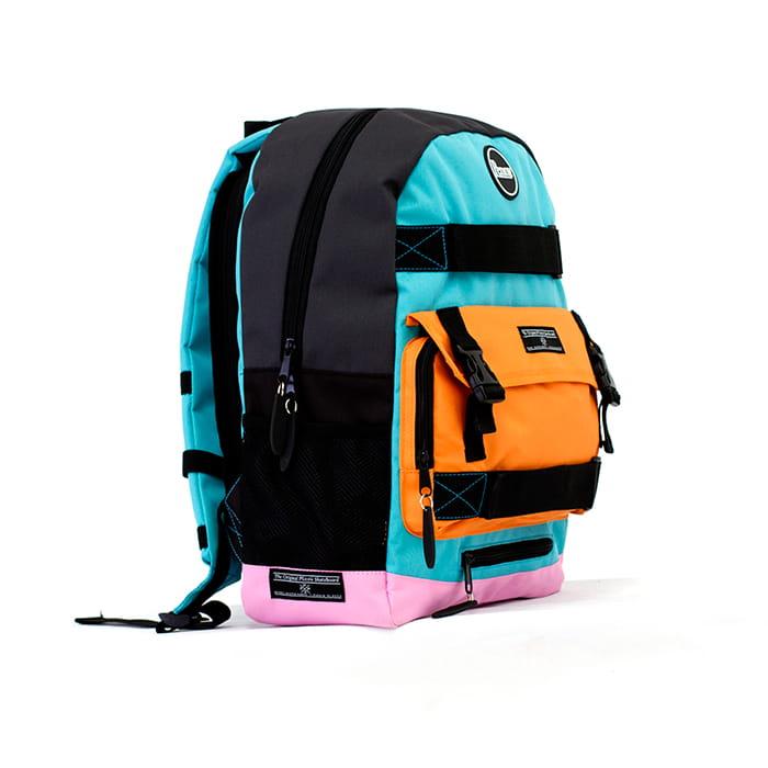 penny skateboards backpack pastel orange longboardshop. Black Bedroom Furniture Sets. Home Design Ideas