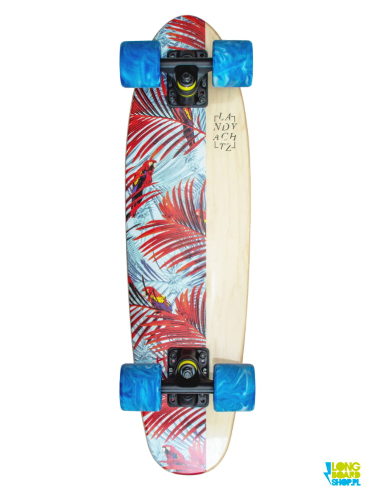"Landyachtz Mini Dinghy 26"" Floral White"