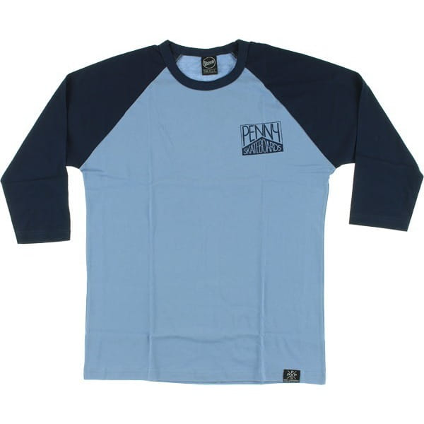 Penny Skateboards 3/4 Shirt Navy (XS)