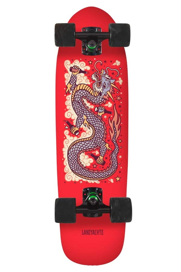 Landyachtz Dinghy Red Dragon